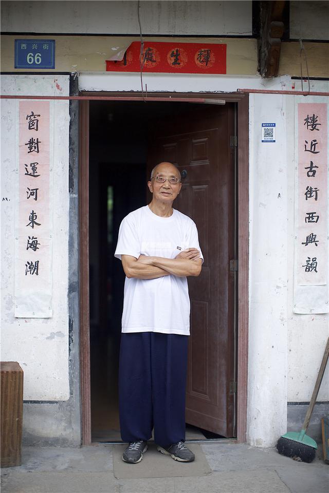 西兴老街上,两张跨越57年的照片